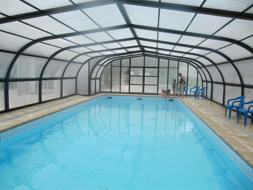 Camping étoiles Avec Piscine Chauffée à Jumièges Rouen Seine - Camping 5 etoiles avec piscine couverte