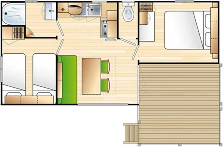 Mobil home loggia locations mobil homes seine maritime for Salon hotellerie de plein air