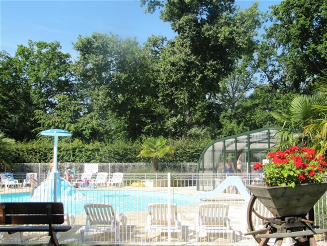 camping 4 étoiles avec piscine chauffée à jumièges - rouen - seine